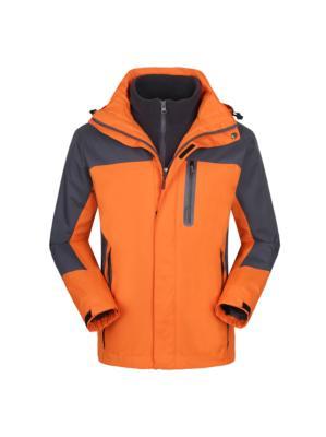 橙色冲锋衣