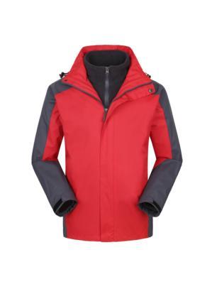 红色冲锋衣